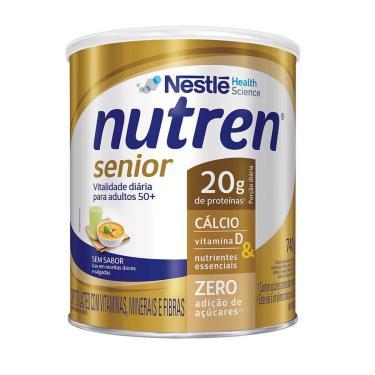 Complemento Alimentar Nutren Senior Sem Sabor com 740g 740g