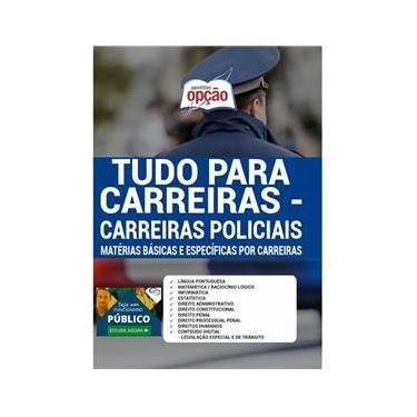 Imagem de Apostila Tudo Para Carreiras - Carreiras Policiais