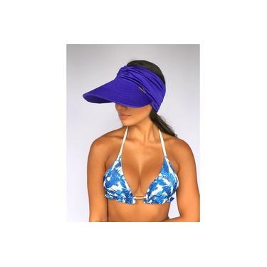 Viseira UV Azul Royal