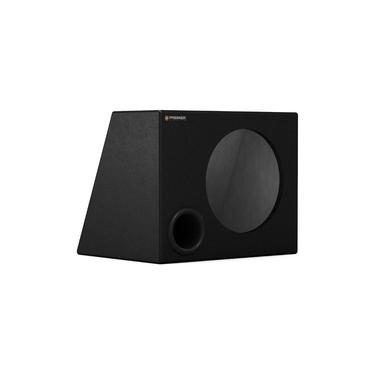 "Caixa Premier Audio Dutada Trapezoidal Para 1 Alto-Falante de 10"""