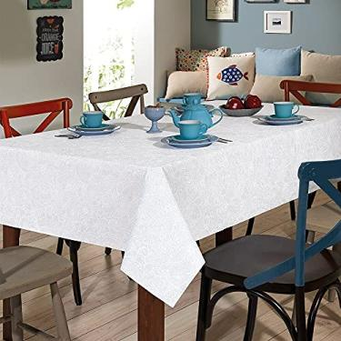 Imagem de Toalha de Mesa Retangular 8 Lugares Edite Limpa Fácil - Dohler
