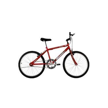 Imagem de Bicicleta Aro 26 Masculina Adulto Sem Marcha Vermelha