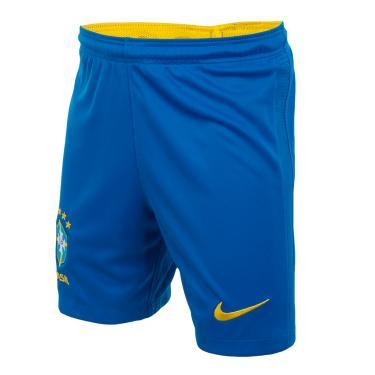 Shorts Nike Brasil 2020/21 Torcedor Pro Infantil