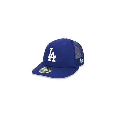 Bone 59fifty Aba Reta Fechado Los Angeles Dodgers Mlb Aba Reta Royal New Era