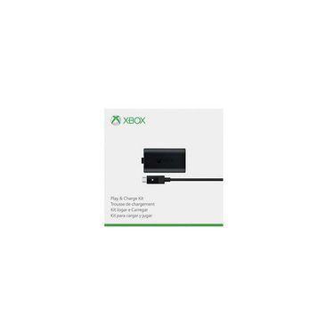 Bateria e Carregador Kit Play And Charge Bateria E Carregador - Controle Xbox One