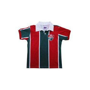 Camisa Liga Retrô Fluminense 1913 Infantil
