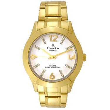 38a73023214 Relógio Champion Passion Dourado CN28713H