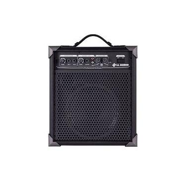 Caixa Amplificada Multiuso Guitarra/Microfone LX60 - 15w RMS