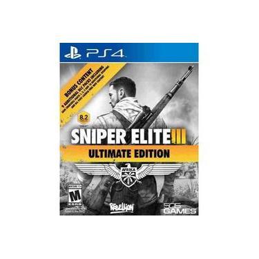 Sniper elite III 3 Ultimate Edition Ps4 em português