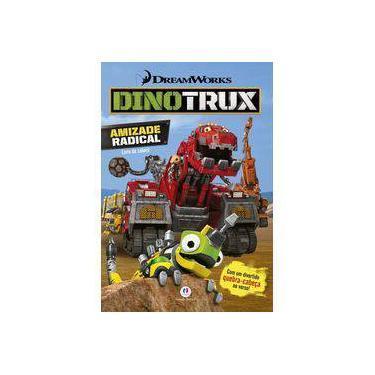 Dinotrux - Amizade Radical - Livro de Colorir - Editora Ciranda Cultural - 9788538068952