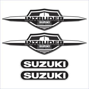 Adesivo Para Moto Suzuki Intruder 125 Resinado