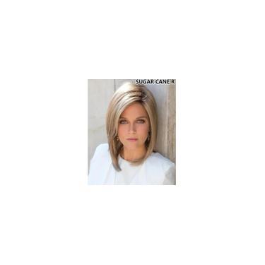 Imagem de Peruca wig longa ao ombro lisa idêntico ao cabelo humano Orgânica loiro fibra estilo franja