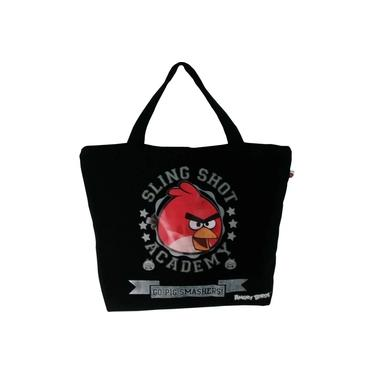 Bolsa Shopping BAG/TOTE ANGRY BIRDS 1BOLSO Preta