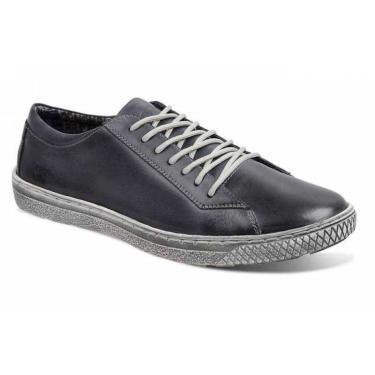 Sapatênis Masculino Sandro Moscoloni New Street Jeans - Navy Blue  45