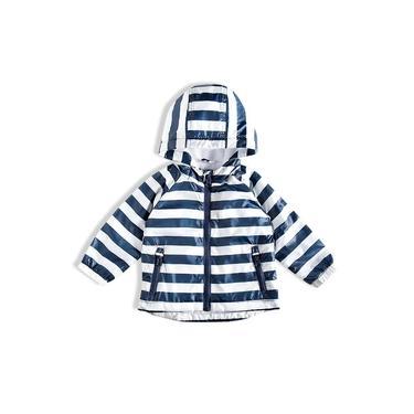 Jaqueta Infantil Listrada Branco Tip Top