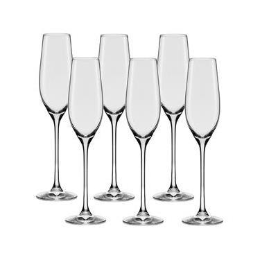 Conjunto de Taças para Espumante Oxford Alumina Crystal Forever Classic 210 ml – 6 Peças