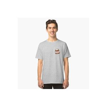 Camiseta Camisa Nutella, Pasta De Avelã