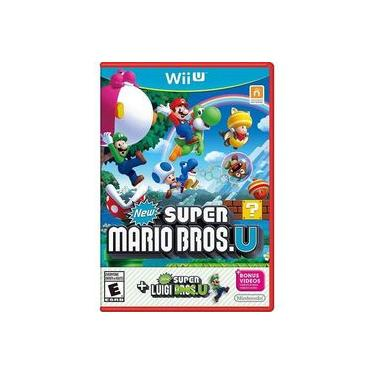 Jogo New Super Mario Bros U + New Super Luigi Wiiu