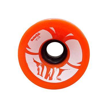 Roda para Skate Sun 70mm 80a Owl Sports - Laranja