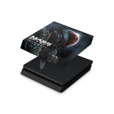 Capa Anti Poeira para PS4 Slim - Mass Effect: Andromeda