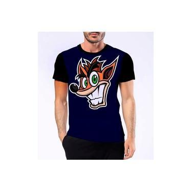 Camiseta Camisa Confortável Crash Jogo Raposa Game Hd 3