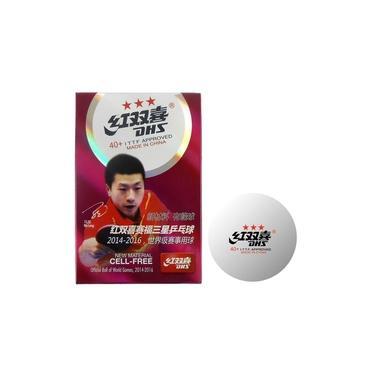Ping-Pong Bolas Tênis de Mesa DHS 3 Estrelas Jogo com 6 unidades