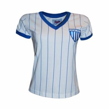 Camisas de Times de Futebol Casuais Feminino Liga Retrô  401e856a59779