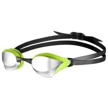 Óculos de Natação Cobra Core Mirror Arena - preto/verde/lente prateada
