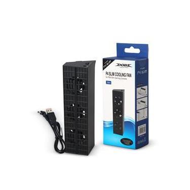 Ventilador PS4 SLIM Novo Cooler Playstation 4 Preto - Dobe