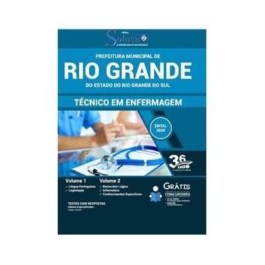 Imagem de Apostila Prefeitura de Rio Grande RS - Técnico em Enfermagem