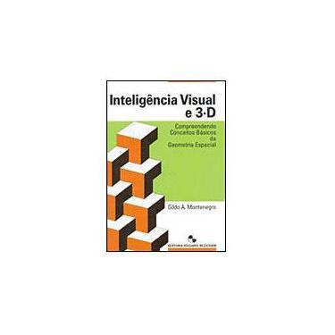 Inteligência Visual e 3-d - Compreendendo Conceitos Básicos da Geometria Espacial - Montenegro, Gildo Aparecido - 9788521203599