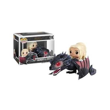 Daenerys Targaryen e Drogon - Funko Pop Game of Thrones Rides