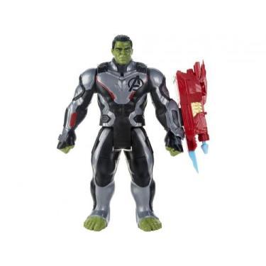 Boneco Hulk Titan Hero Series Marvel Avengers - 30cm com Acessórios Ha