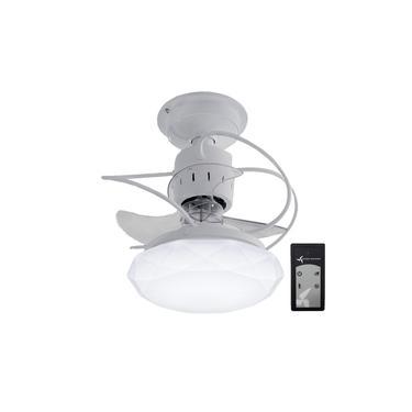 Ventilador de Teto Treviso Cancun Branco C/ Controle Remoto Bivolt