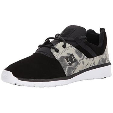 Tênis DC Shoes Heathrow SE Black Destroy Wash