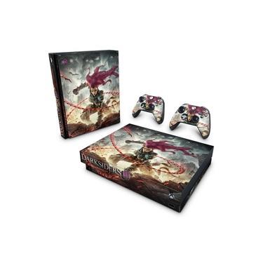Skin Adesivo para Xbox One X - Darksiders 3