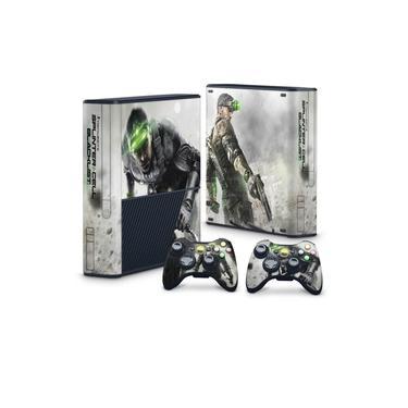 Skin Adesivo para Xbox 360 Super Slim - Splinter Cell Black List