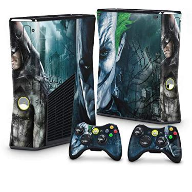 Skin Adesivo para Xbox 360 Slim - Batman Arkham Asylum