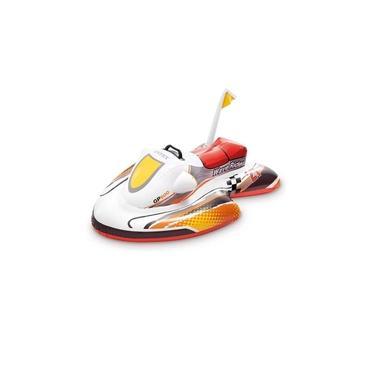 Bote Boia Jet Ski Inflavel Infantil Piscina Mar Intex 57520