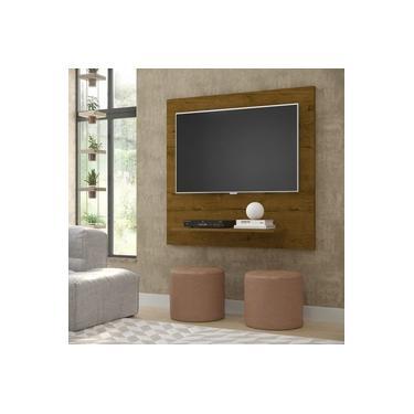 Painel Sala Plus FLET Para TV 32 Polegadas - Malbec - Comprar Móveis em Casa