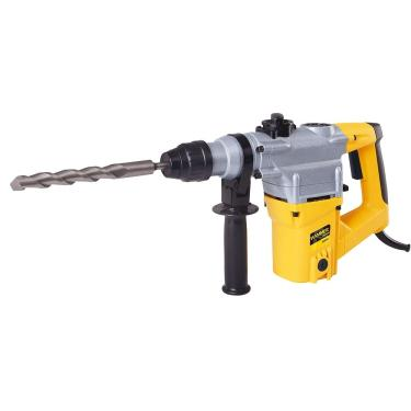 Martelete Perfurador Rotativo Hammer GYMR900, 900W, Preto/Amarelo