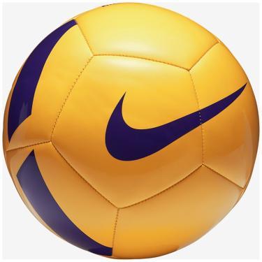 3a8211d8b4 Bola Futebol Campo Nike Pitch Team SC3166 - Amarelo Violeta
