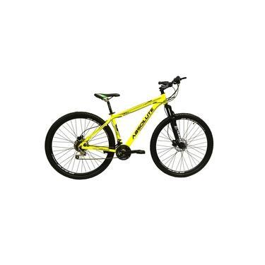Imagem de Bicicleta 29 Absolute Nero 3 Alumínio 21v Freios a Disco Garfo com Suspensão Mountain Bike