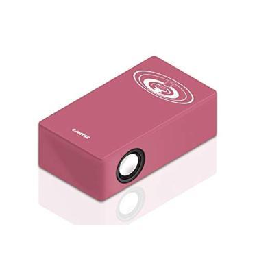 Magic Box - Caixa de Som para Celular Sem fio - Rosa - COMTAC - 9251