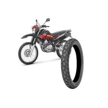 Pneu Moto Xtz Lander Technic Aro 18 120/80-18 62s Traseiro T&C