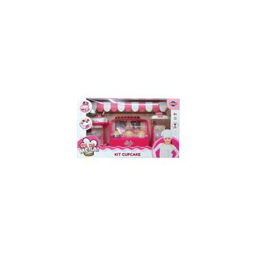 Imagem de Kit Cafeteira com Cupcakes a Pilha Brinquedo