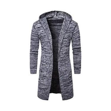 Sobretudo Trench Coat Masculino Frank Capull Outlet (Cinza Mescla, P)