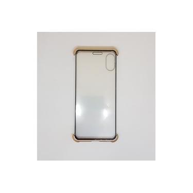 Capinha celular Magnética Acrílico iPhone XS MAX DOURADO