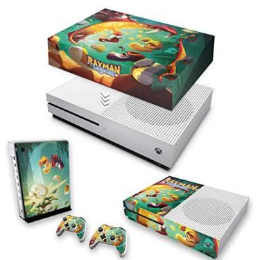 Capa Anti Poeira e Skin para Xbox One S Slim - Rayman Legends