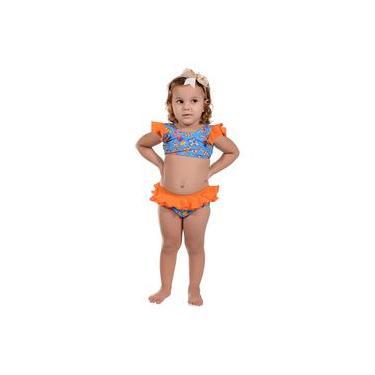 Conjunto Infantil Sorvete Azul